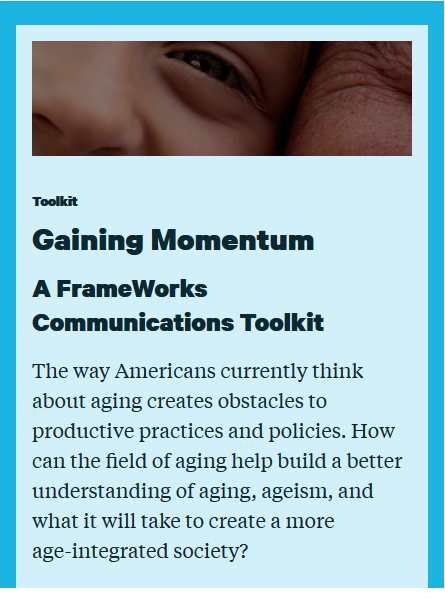 Gaining Momentum: A FrameWorks Communications Toolkit