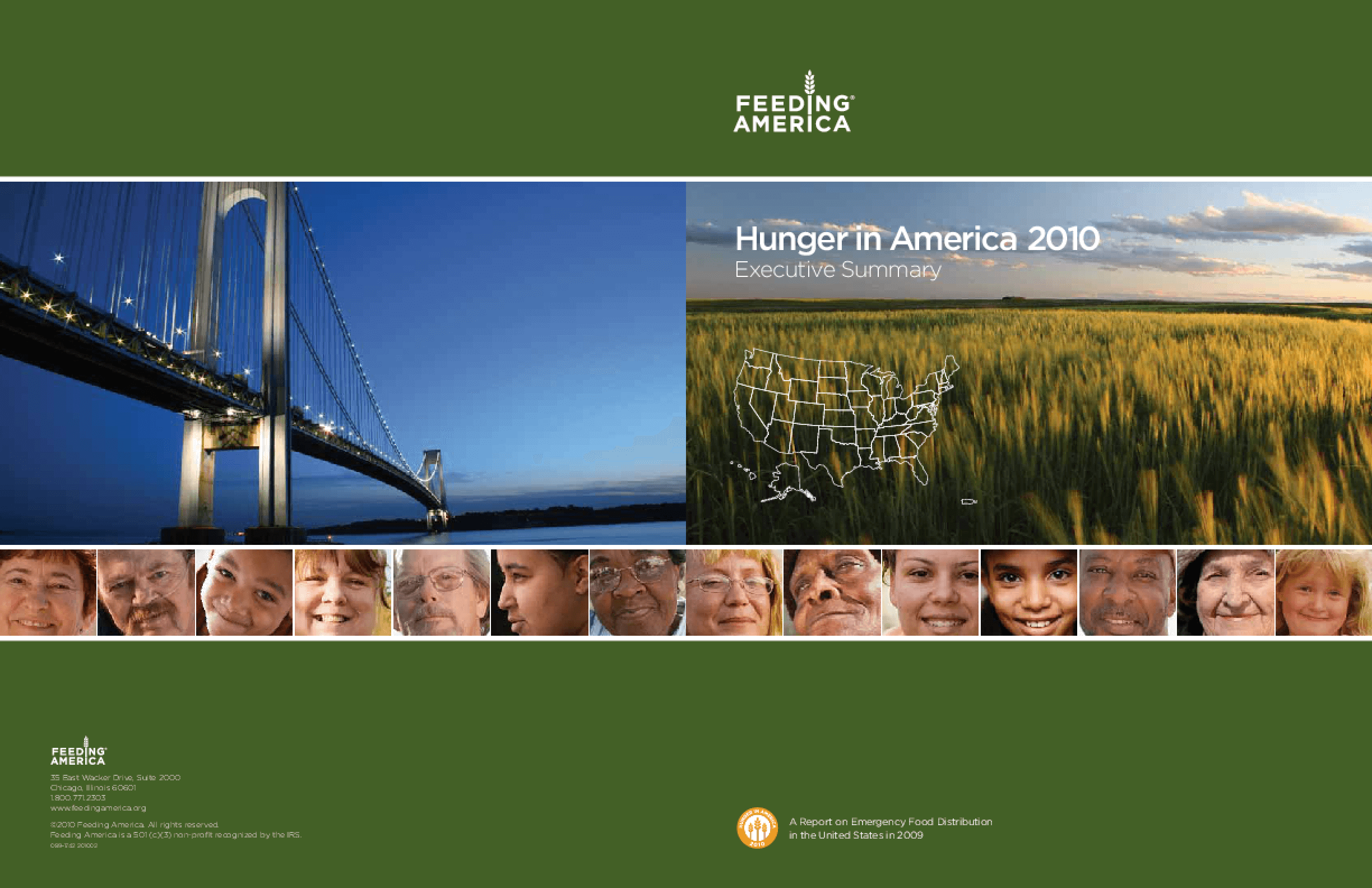 Hunger in America 2010 Executive Summary