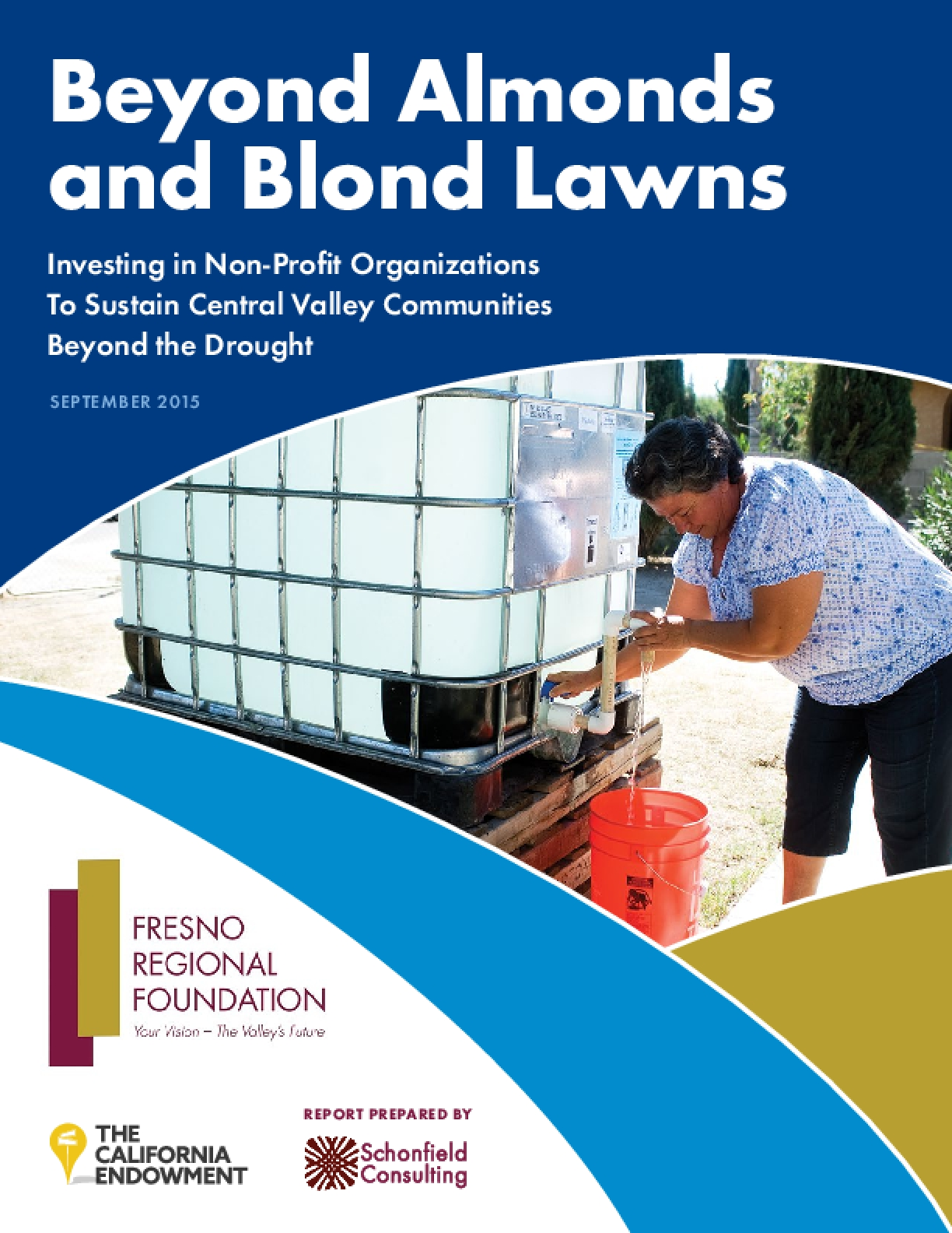 Beyond Almonds and Blond Lawns: Investing in Non-Profit Organizations To Sustain Central Valley Communities Beyond the Drought