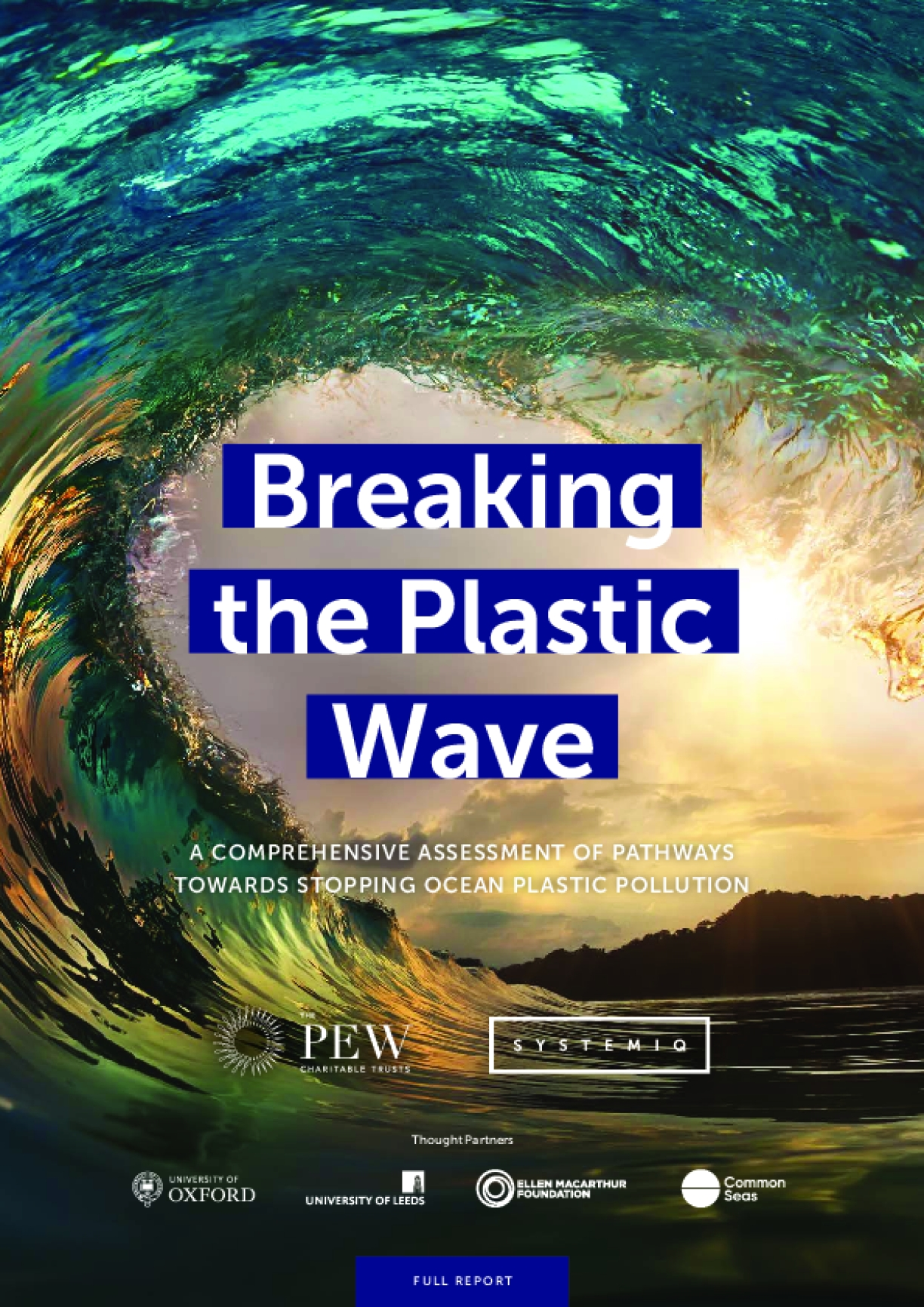 Breaking the Plastic Wave: A Comprehensive Assessment Of Pathways Towards Stopping Ocean Plastic Pollution