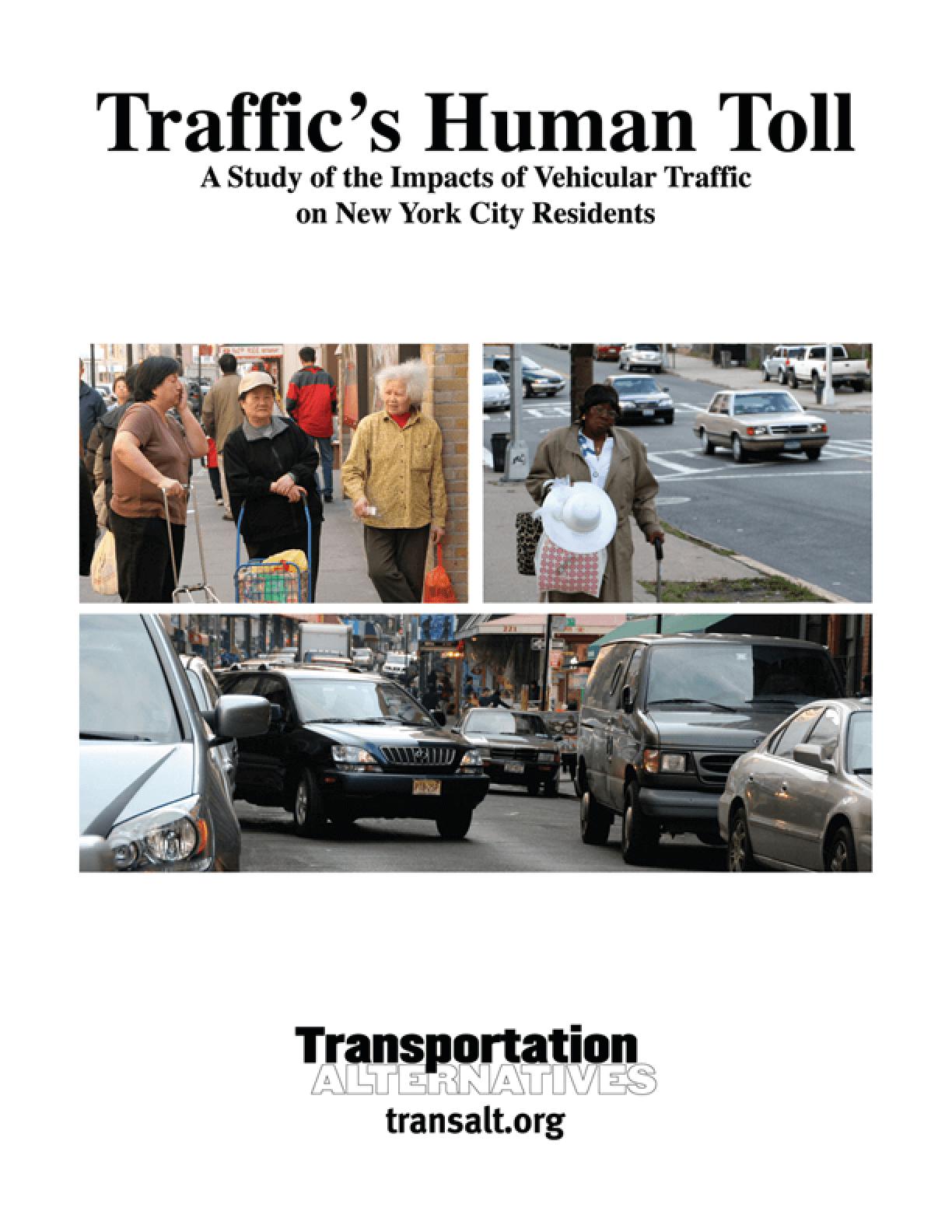 Traffic's Human Toll