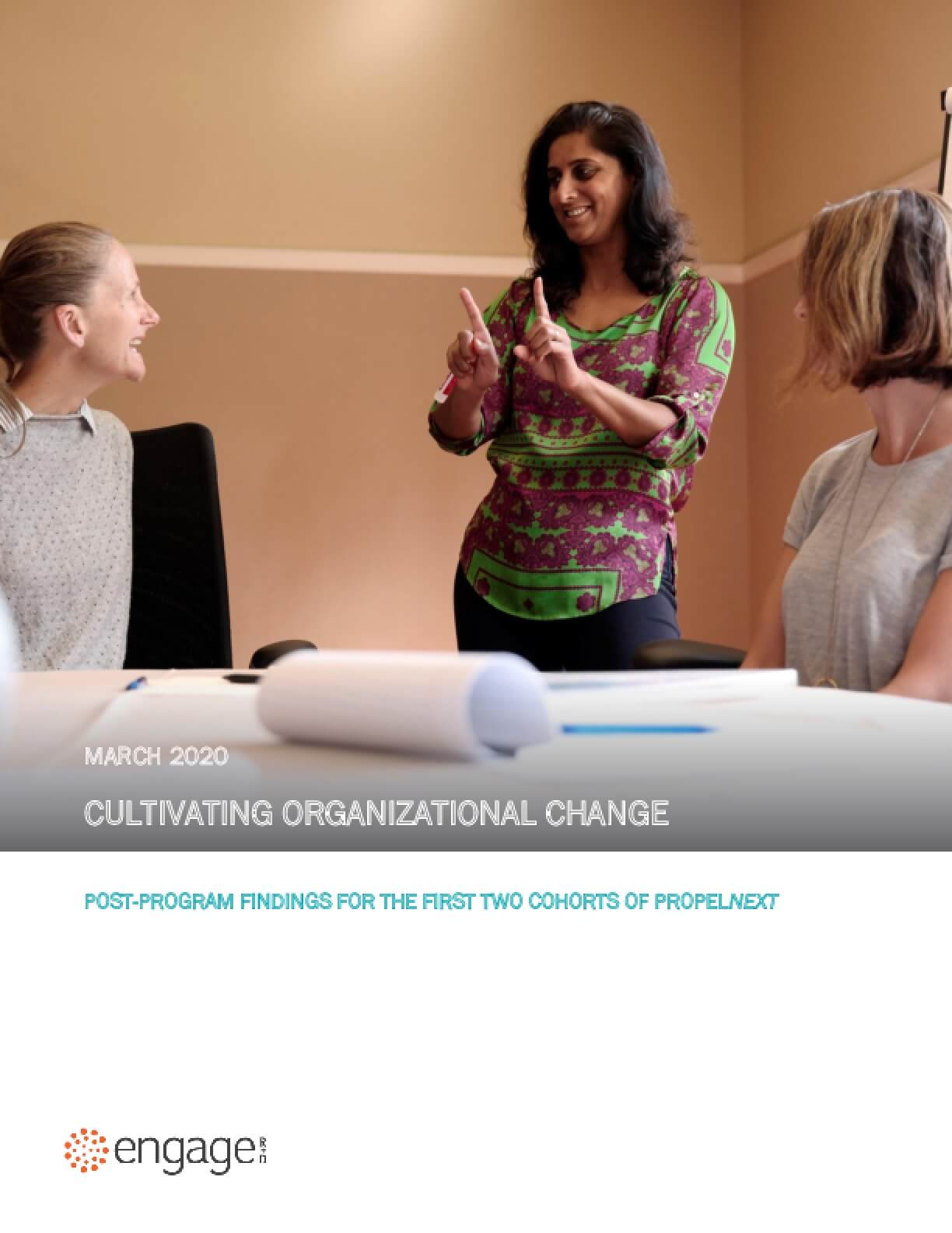 Cultivating Organizational Change: Post-Program Findings from the First Two Cohorts of PropelNext