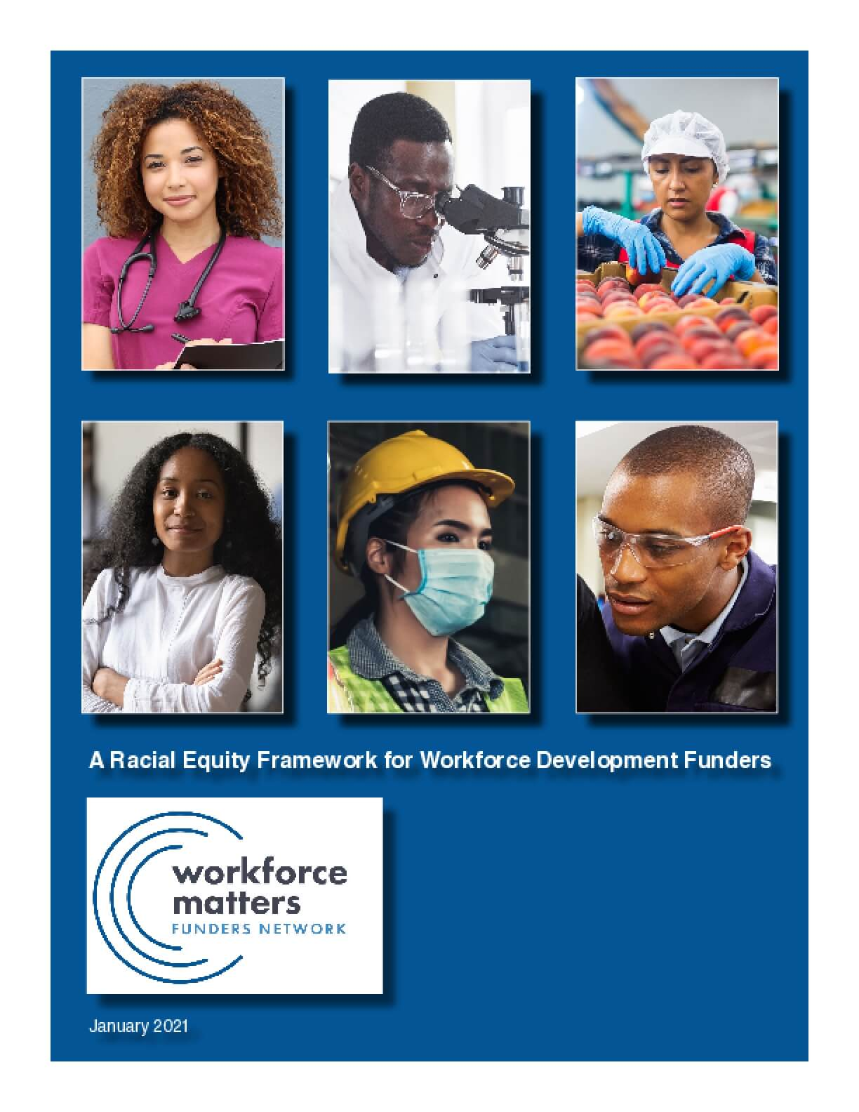 A Racial Equity Framework for Workforce Development Funders
