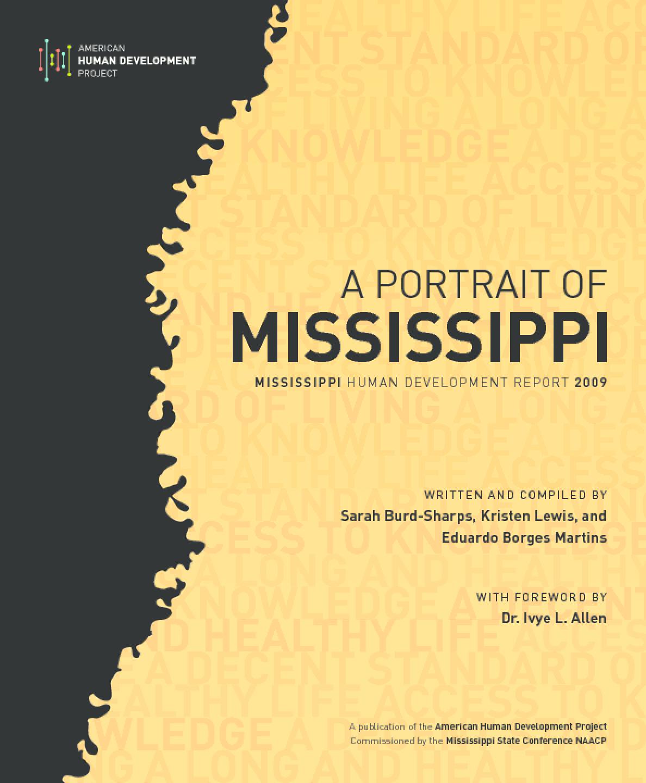 A Portrait of Mississippi: Mississippi Human Development Report 2009