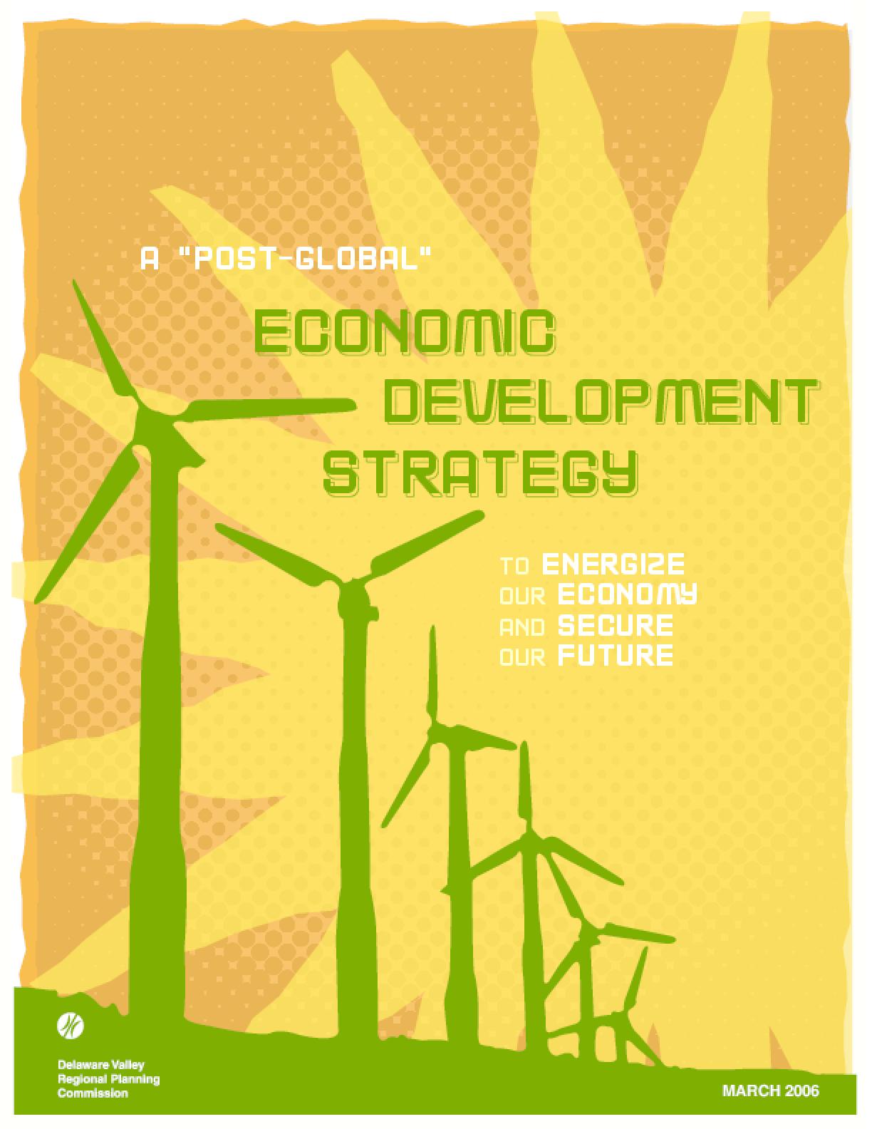 A Post-Global Economic Development Strategy