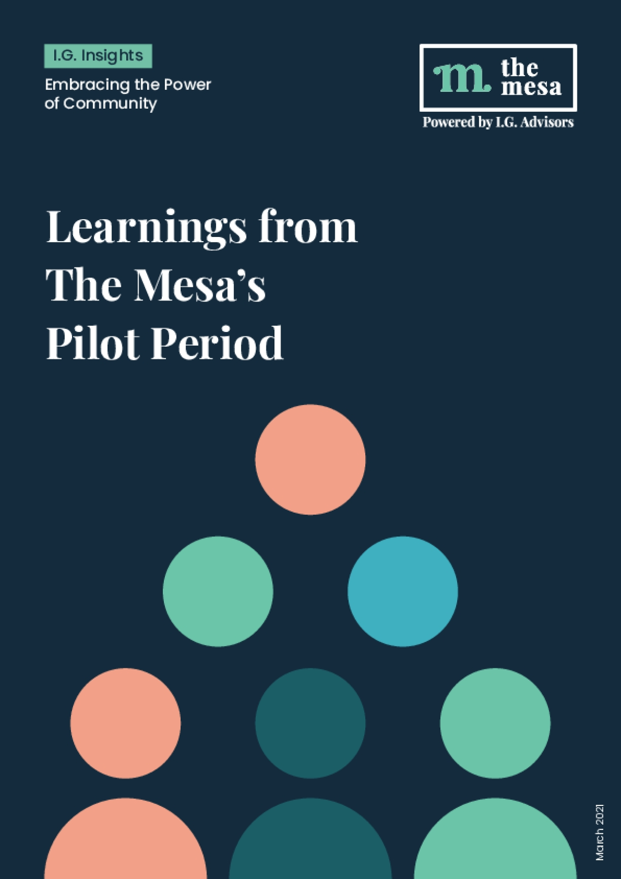 Building a Powerful Digital Impact Community: Learnings from The Mesa's Pilot Period