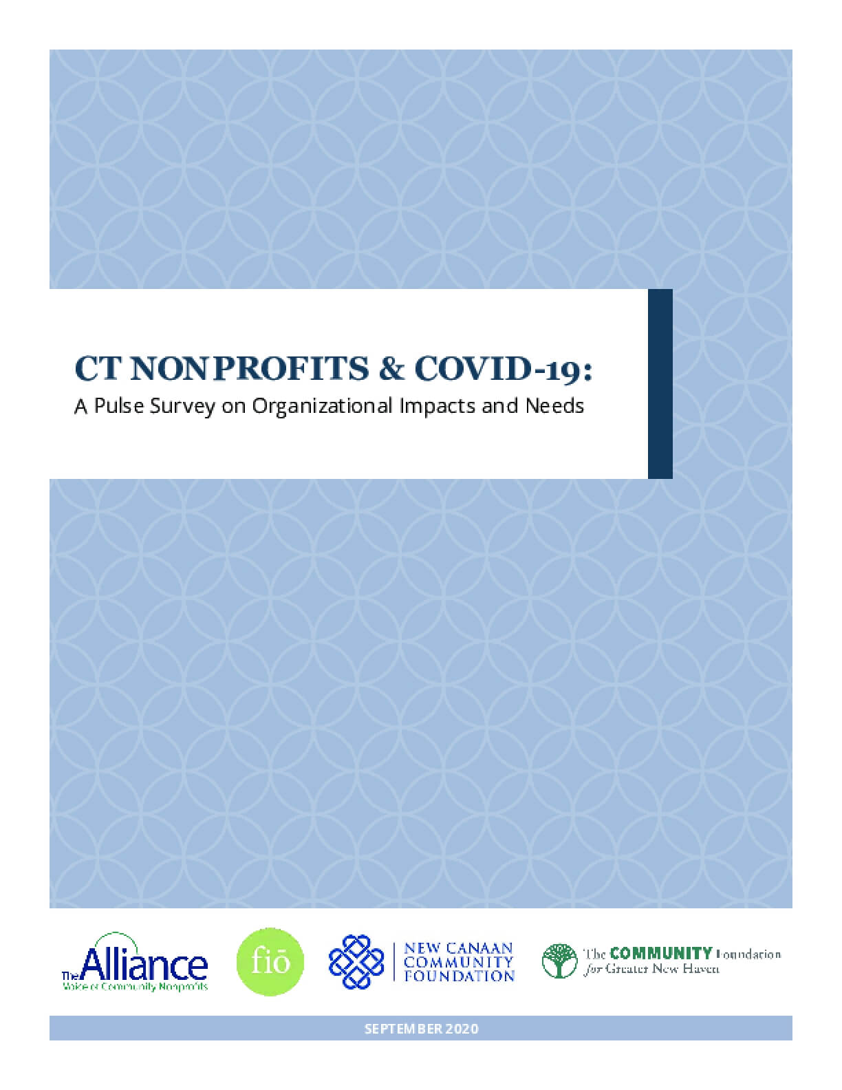CT Nonprofits & COVID-19: A Pulse Survey on Organizational Impacts and Needs