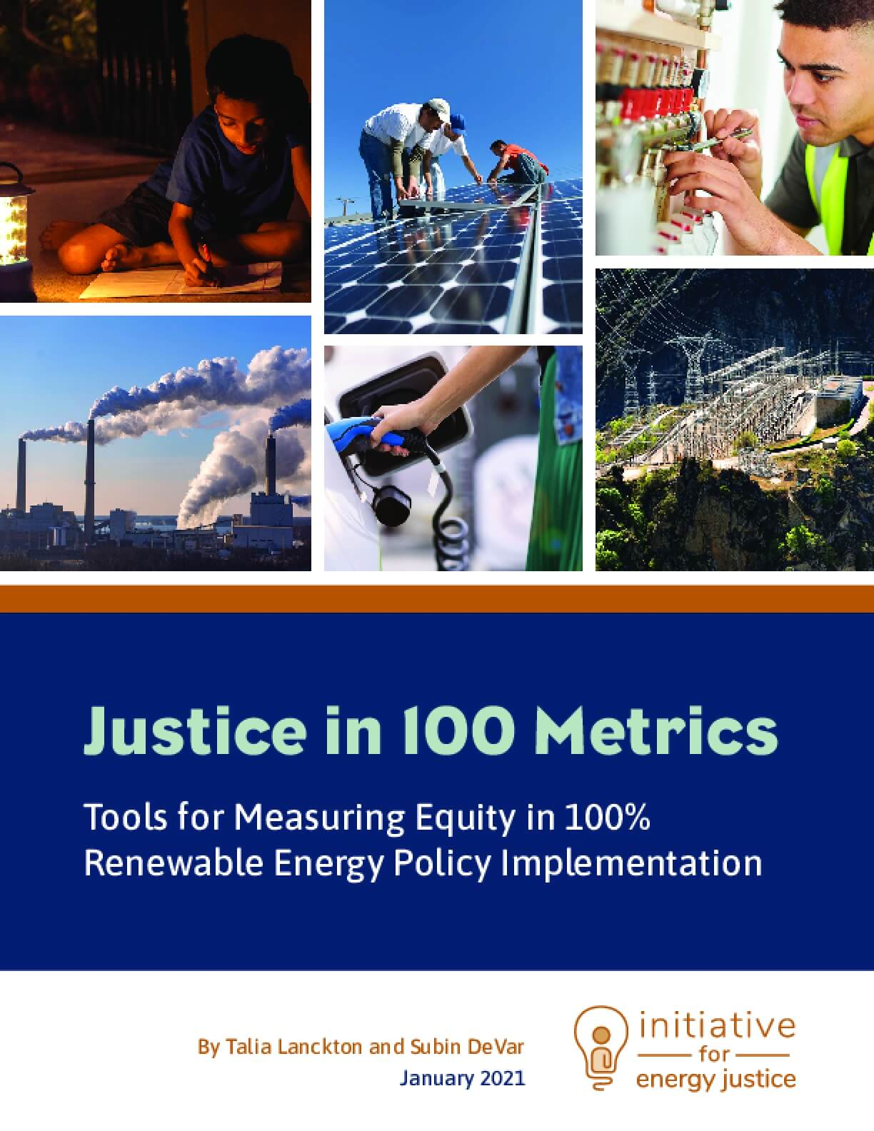 Justice in 100 Metrics: Tools for Measuring Equity in 100% Renewable Energy Policy Implementation