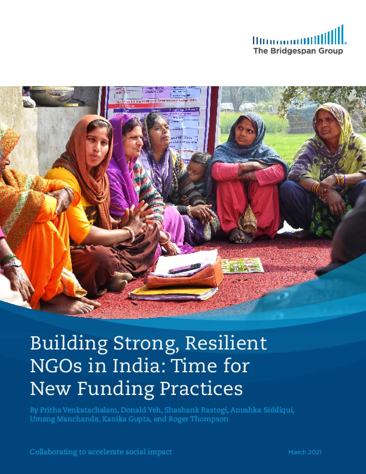 Building Strong, Resilient NGOs in India: Time for New Funding Practices