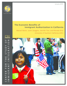 benefits and costs of authorized immigrants Us natives tend to benefit from immigration precisely because immigrants are not exactly like natives in terms of  evaluating the fiscal benefits and costs.