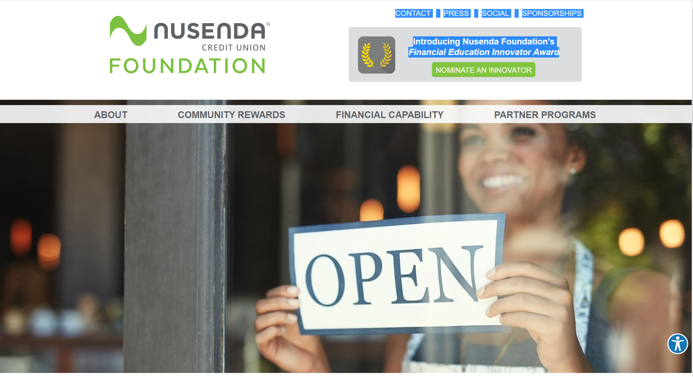 Nusenda Federal Credit Union - Website