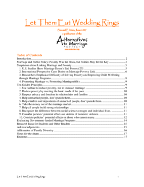Let Them Eat Wedding Rings (Second Edition)