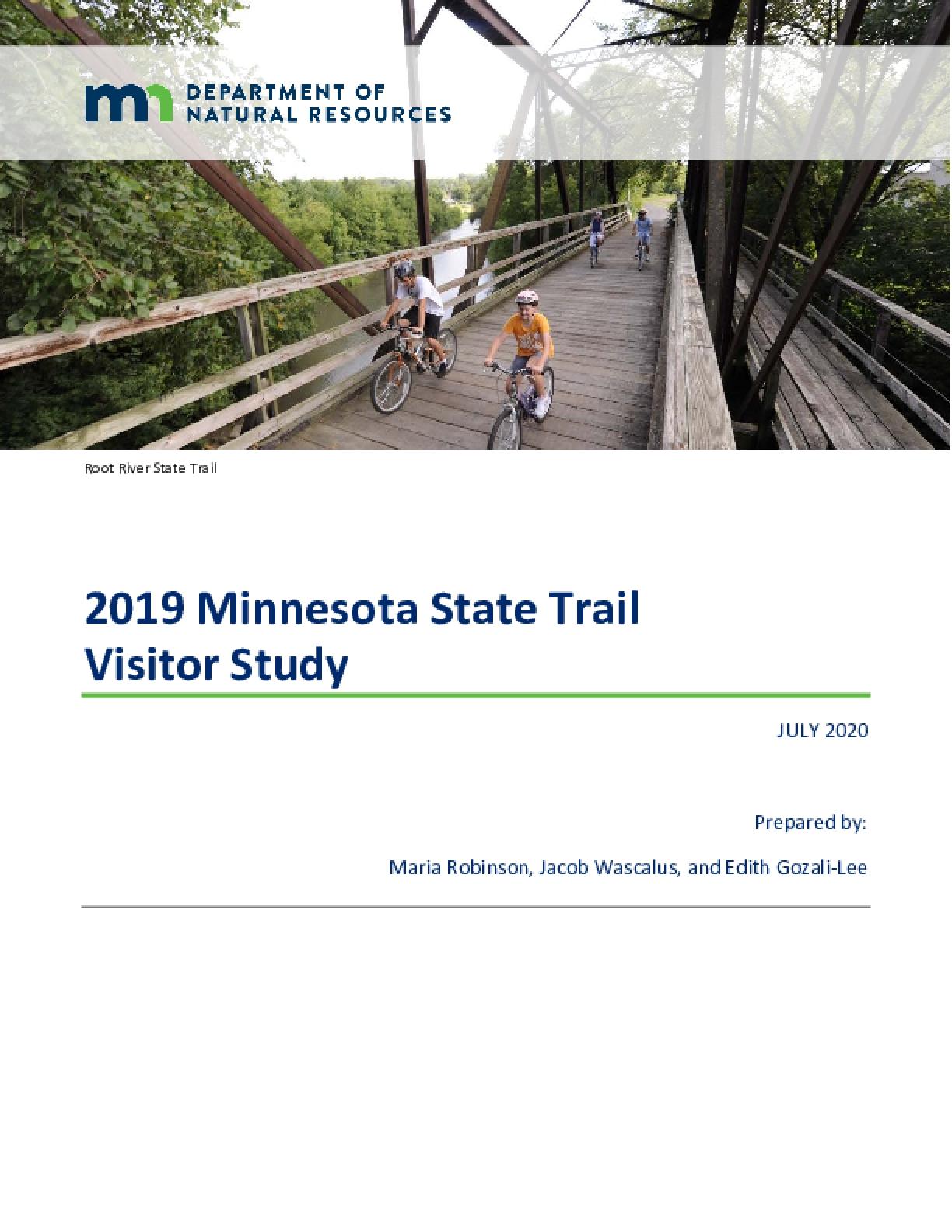 2019 Minnesota State Trail Visitor Study