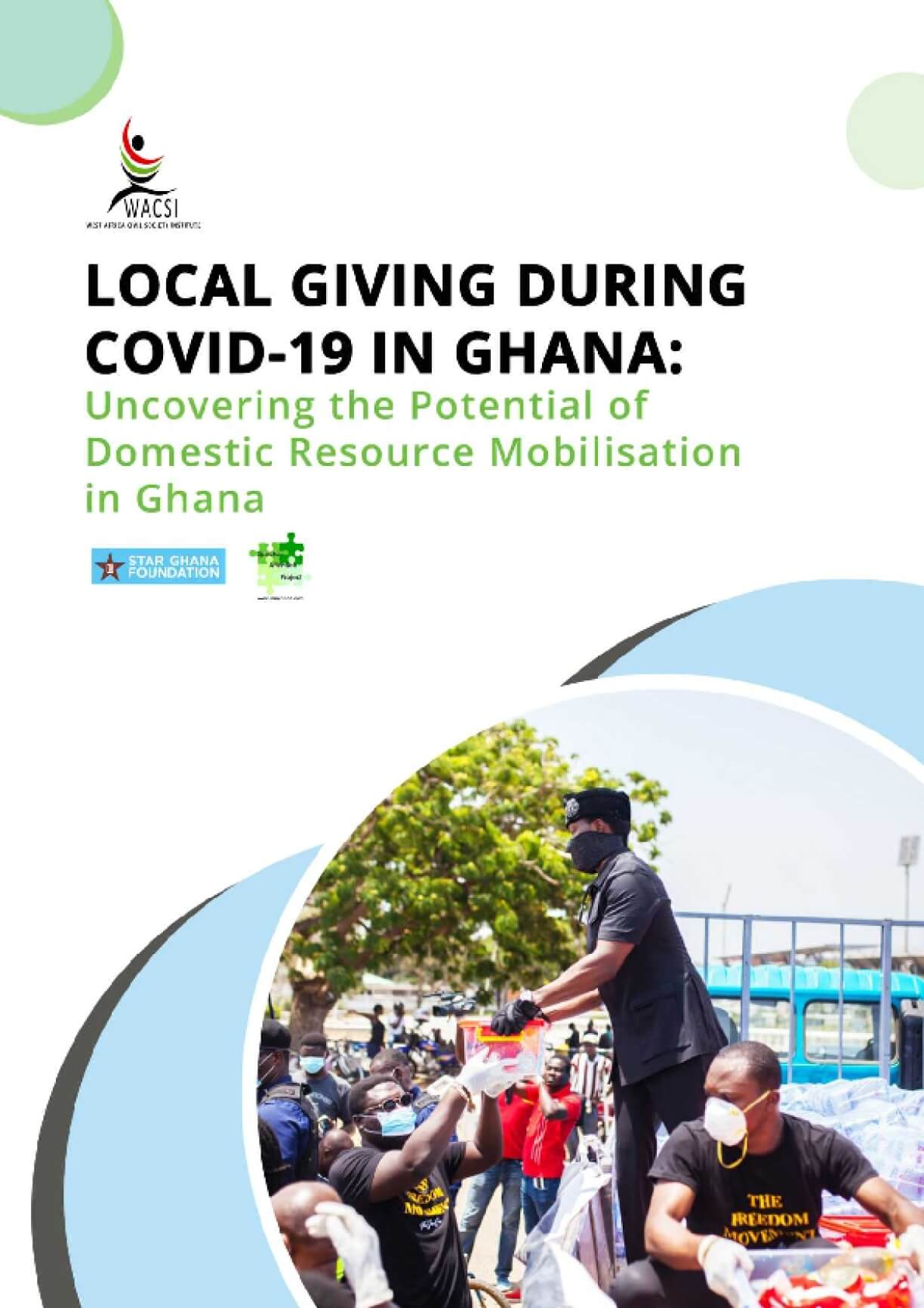 Local Giving During COVID-19 in Ghana: Uncovering the Potential of Domestic Resource Mobilisation in Ghana