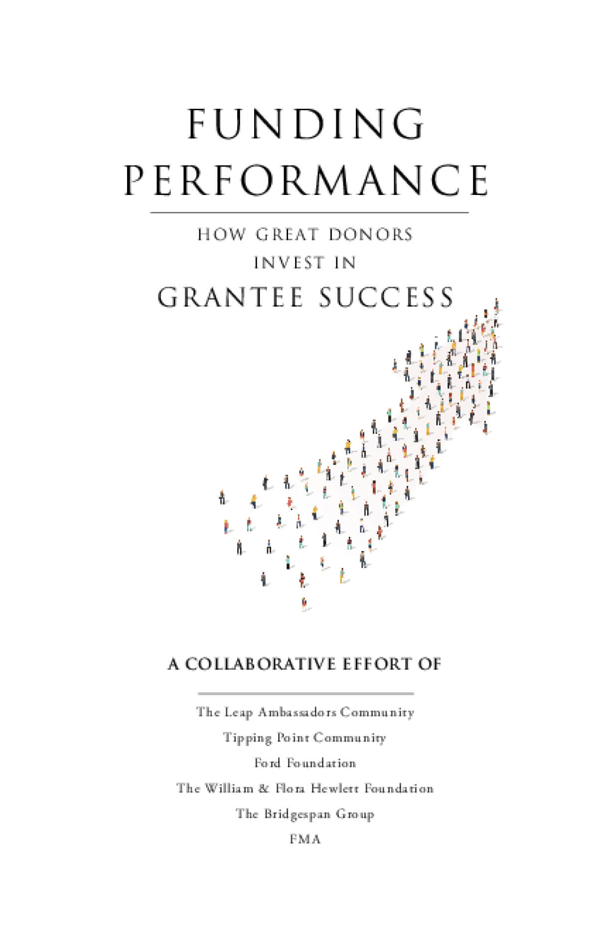 Funding Performance: How Great Donors Invest in Grantee Success