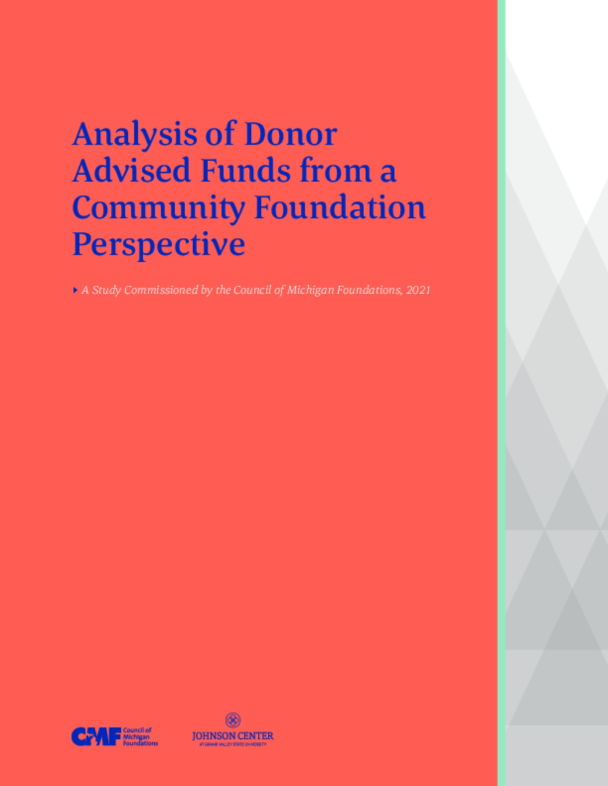 Analysis of Donor Advised Funds from a Community Foundation Perspective