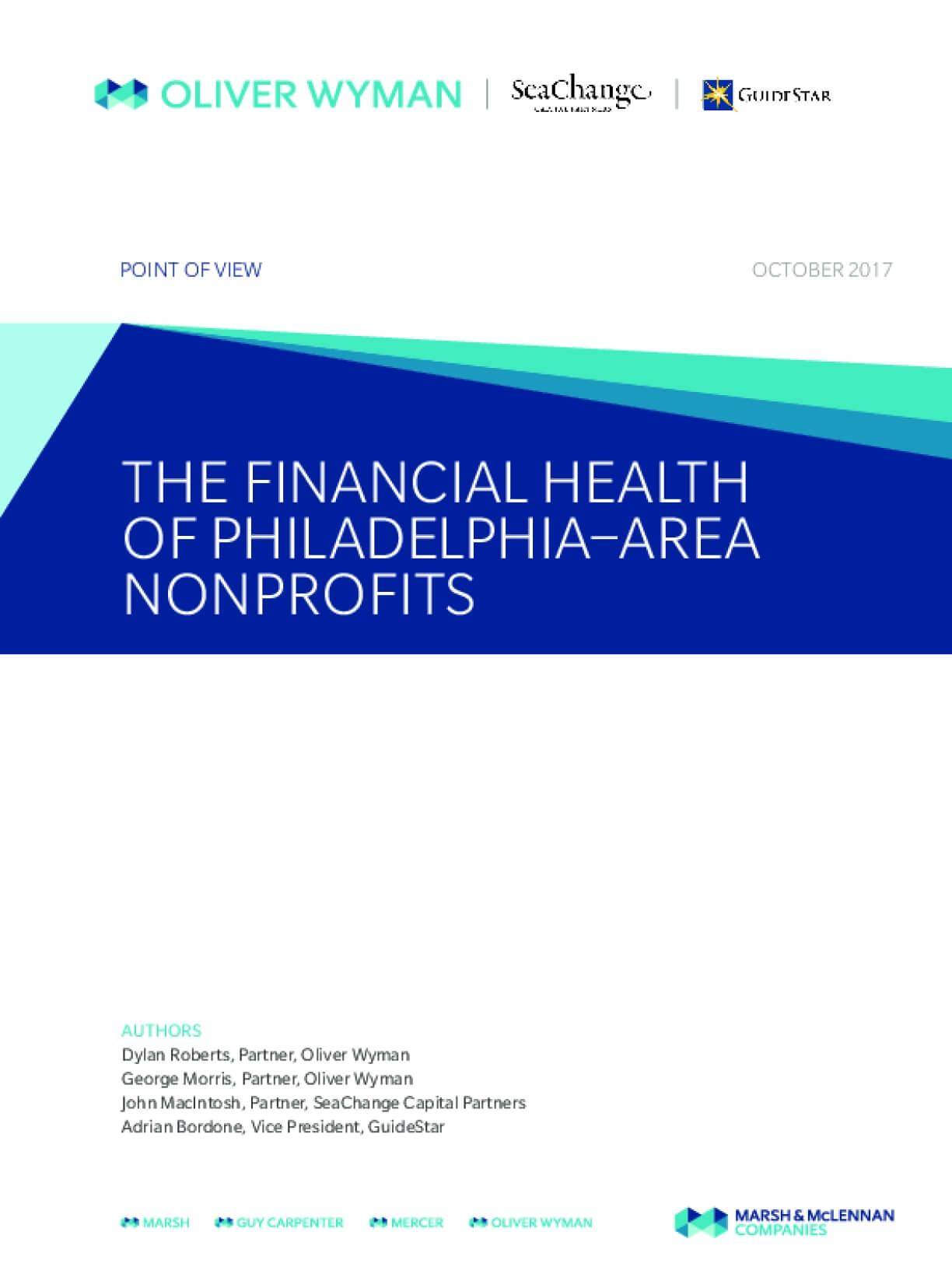 The Financial Health of Philadelphia-Area Nonprofits