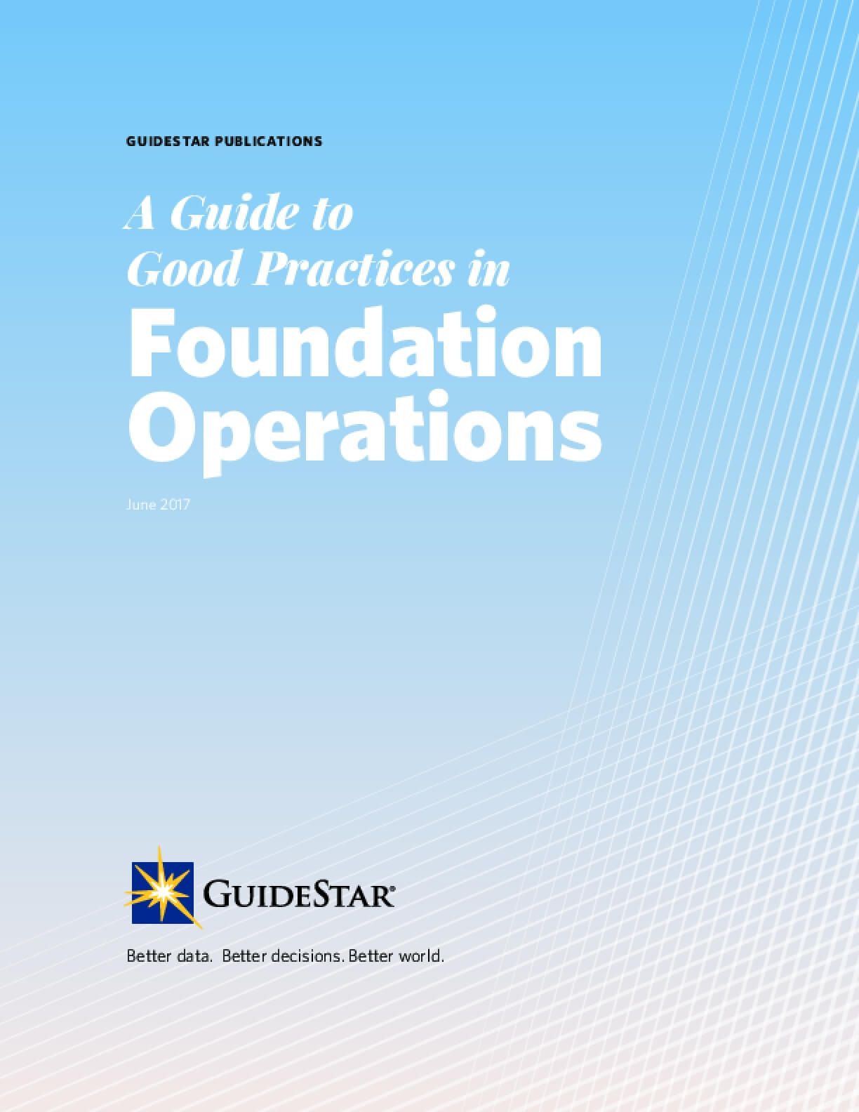 A Guide to Good Practices in Foundation Operations