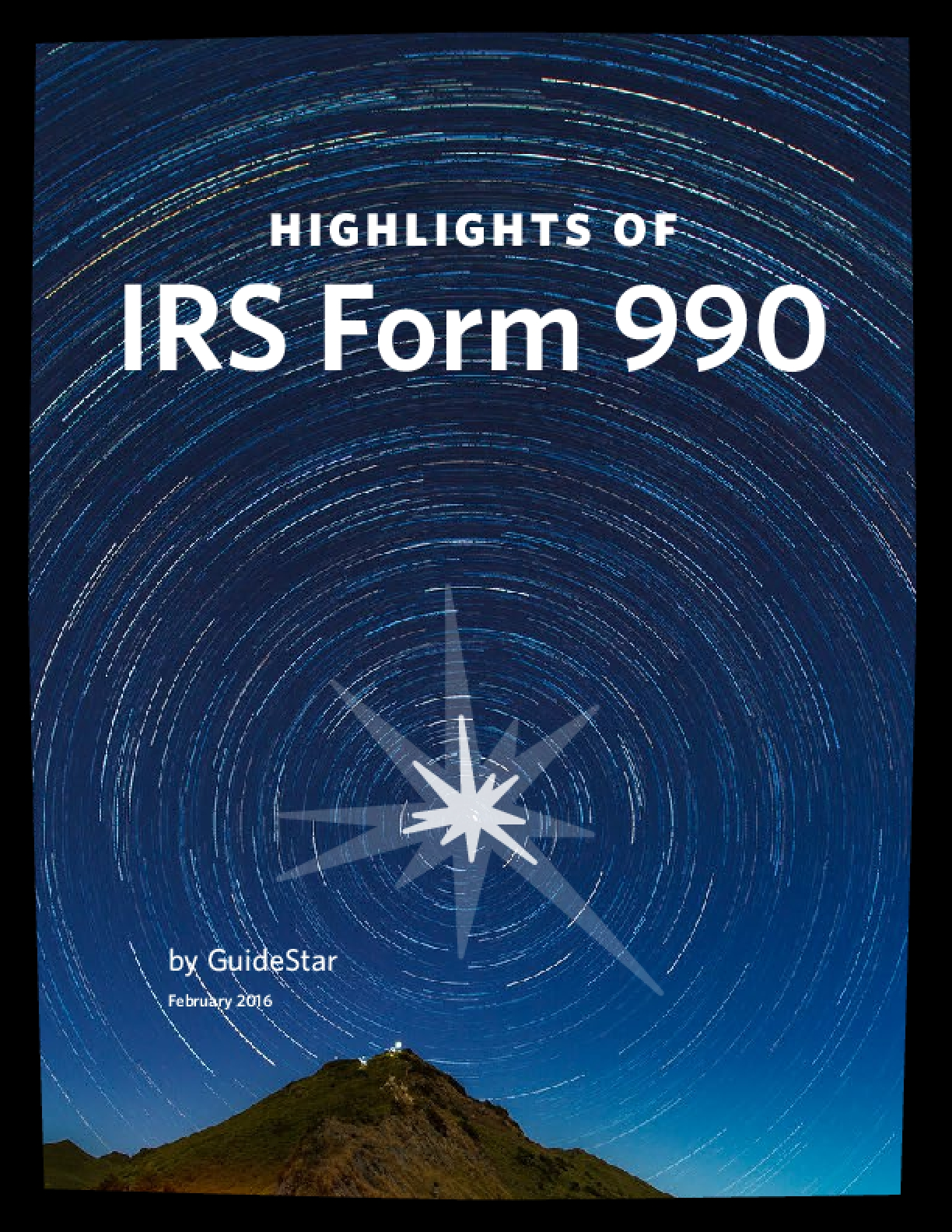 Highlights of IRS Form 990 2016
