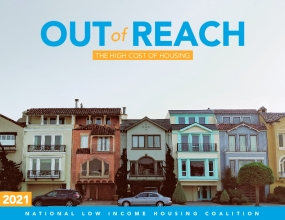 Out of Reach 2021: The High Cost of Housing
