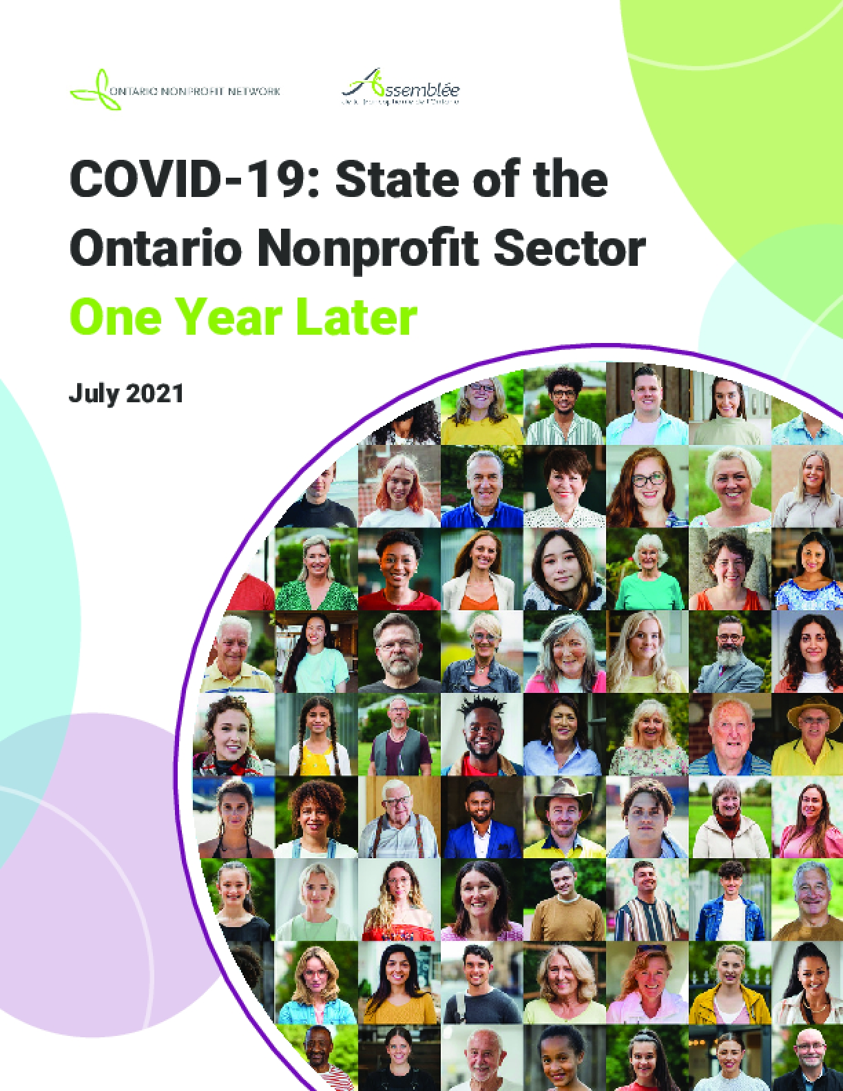 COVID-19: State of the Ontario Nonprofit Sector One Year Later