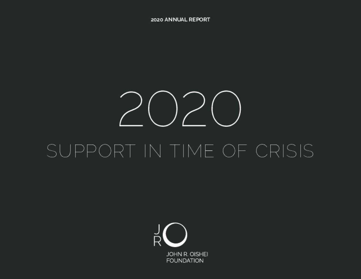 2020: Support in Time of Crisis