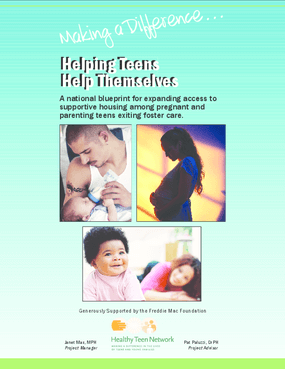 Helping Teens Help Themselves: A National Blueprint