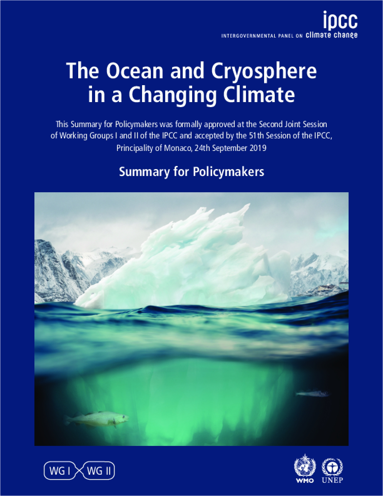 IPCC Special Report on the Ocean and Cryosphere in a Changing Climate: Summary for Policymakers