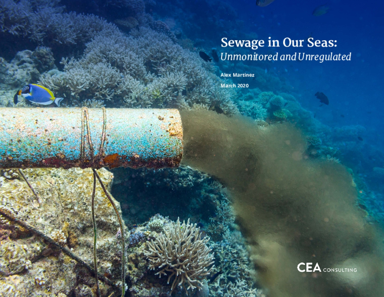 Sewage in Our Seas: Unmonitored and Unregulated