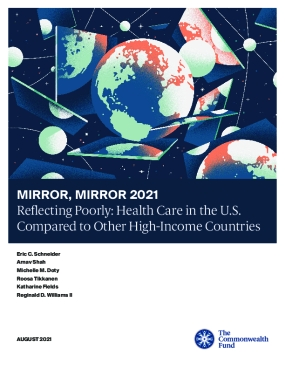 Mirror, Mirror 2021: Reflecting Poorly - Health Care in the U.S. Compared to Other High-Income Countries