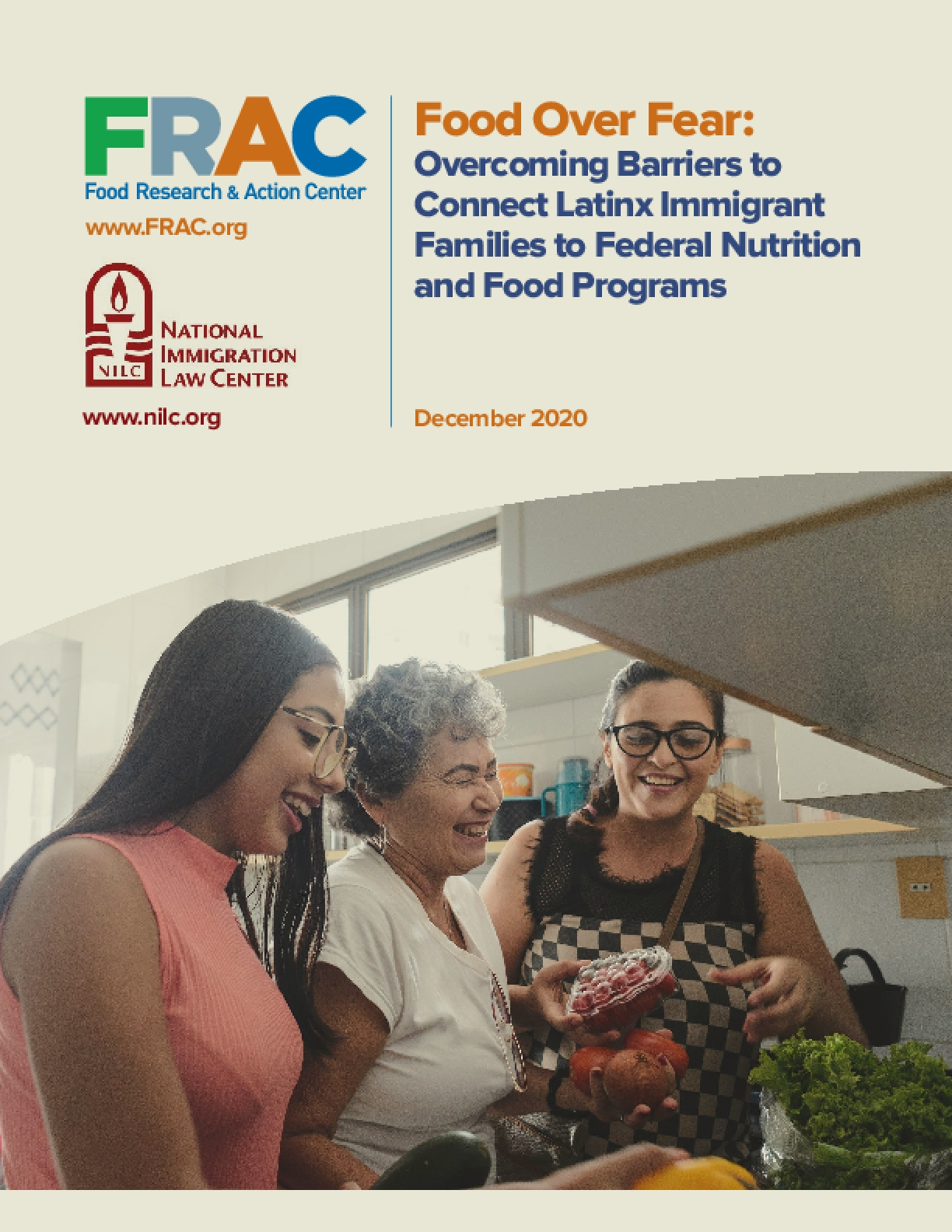 Food Over Fear: Overcoming Barriers to Connect Latinx Immigrant Families to Federal Nutrition and Food Programs