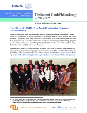 The State of Youth Philanthropy 2020 – 2021