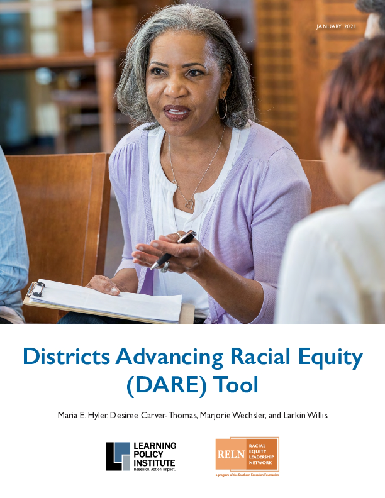 Districts Advancing Racial Equity (DARE) Tool