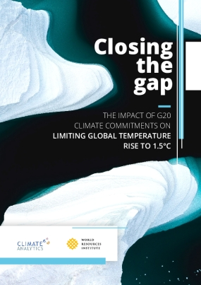 Closing the gap: the impact of G20 climate commitments on limiting global temperature rise to 1.5°C