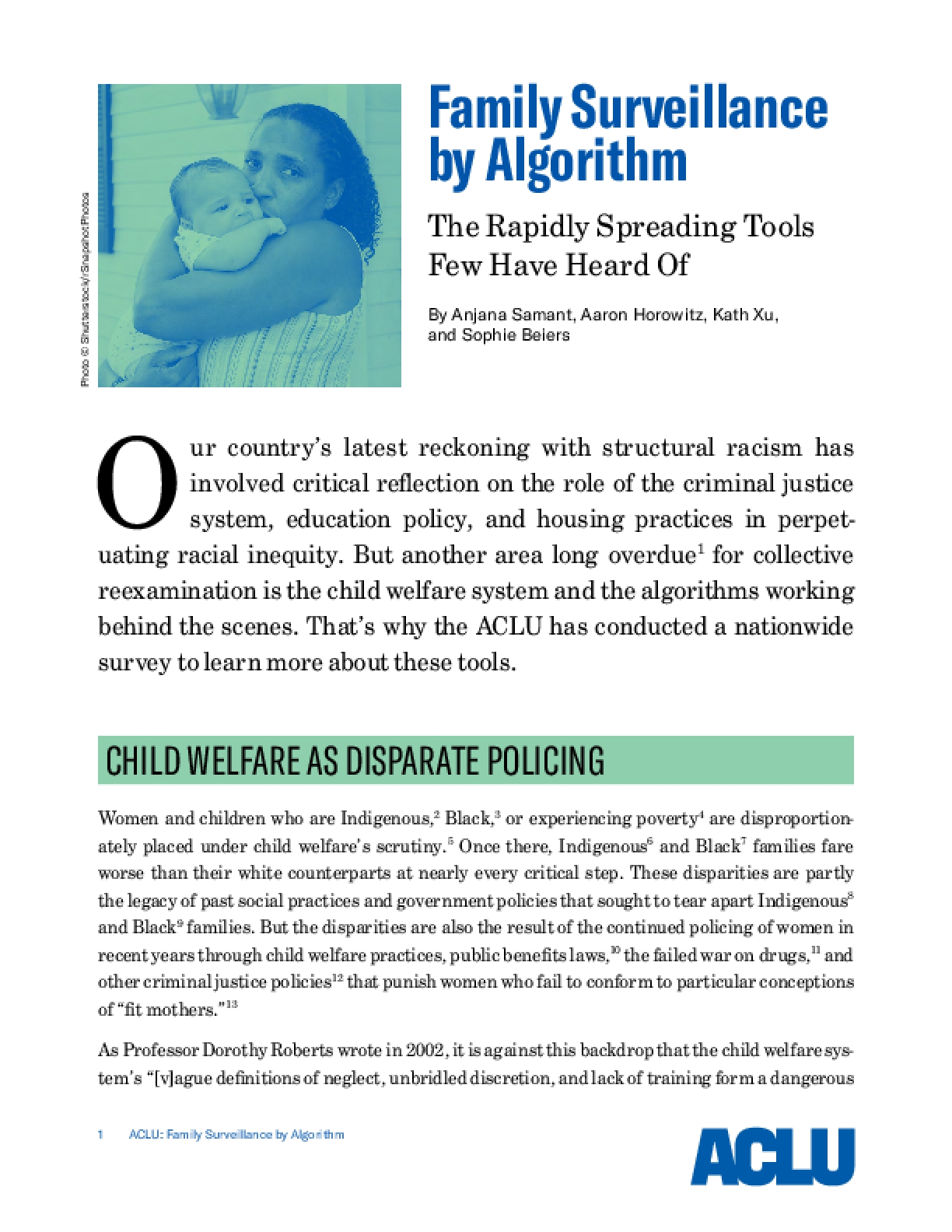 Family Surveillance by Algorithm: The Rapidly Spreading Tools Few Have Heard Of