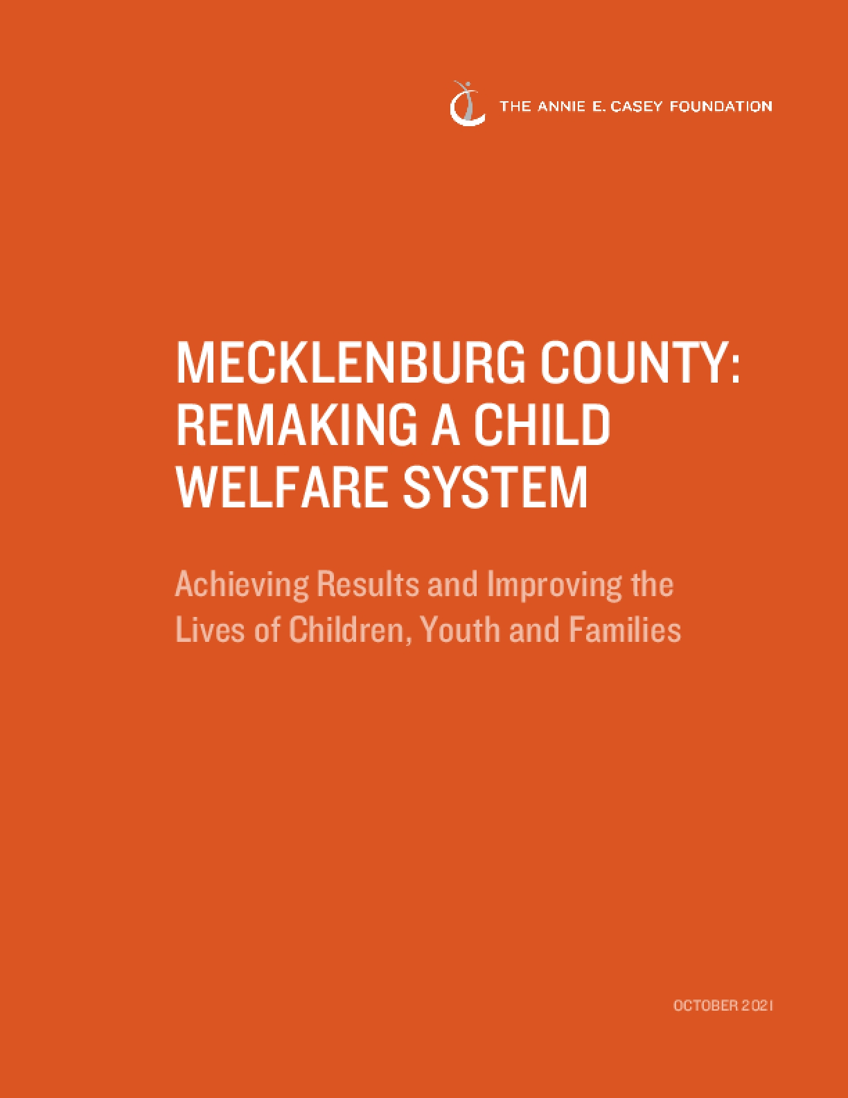 Mecklenburg County: Remaking a Child Welfare System