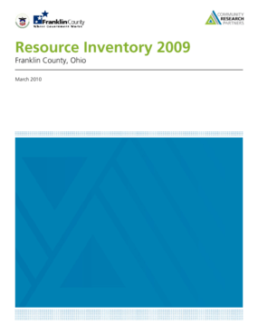 Franklin County Resource Inventory