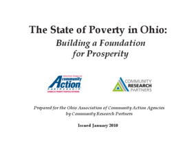 The State of Poverty in Ohio: Building a Foundation for Prosperity