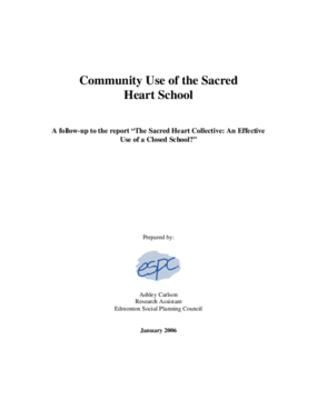 Community Use of the Sacred Heart School