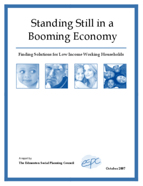 Standing Still in a Booming Economy: Finding Solutions for Low Income Working Households