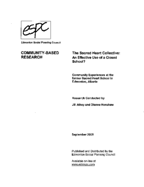 Sacred Heart Collective: An Effective Use of a Closed School?, The?