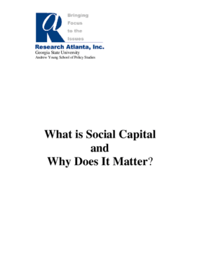 What is Social Capital And Why Does It Matter?