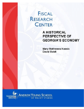 A Historical Perspective of Georgia's Economy