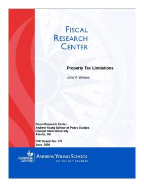 Property Tax Limitations