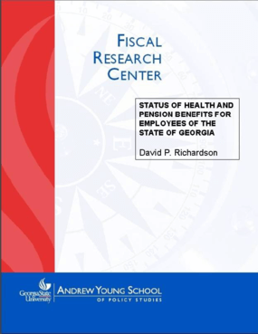 Status of Health and Pension Benefits for Employees of the State of Georgia in 2004