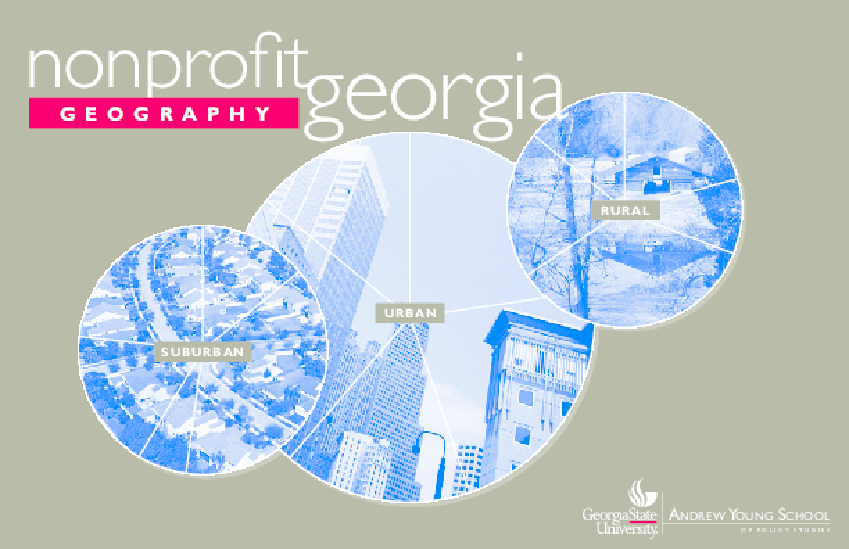 Nonprofit Georgia: Geography