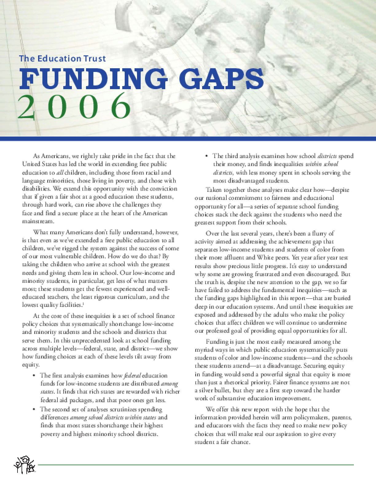 Funding Gaps 2006