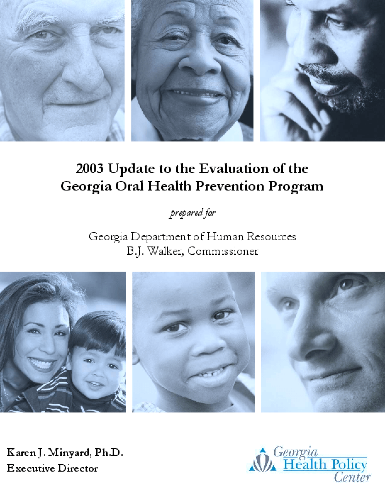 CY2003 Update to the Evaluation of the Georgia Oral Health Prevention Program