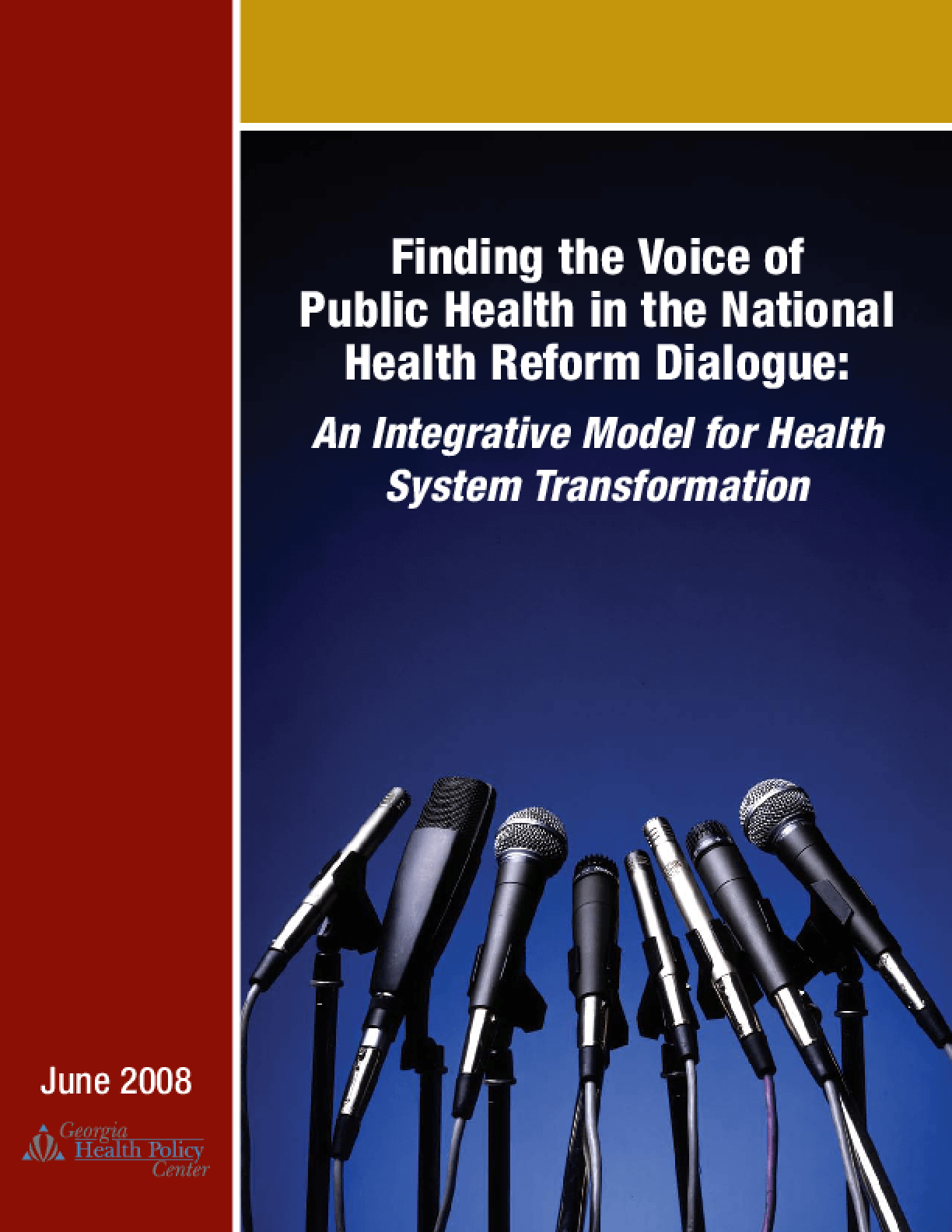 Finding the Voice of Public Health