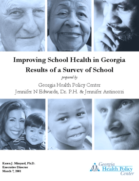 Improving School Health in Georgia: Results of a Survey of School Superintendents